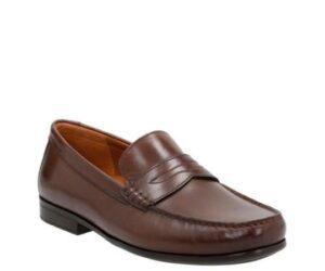 clarks pantofi claude lane brwn