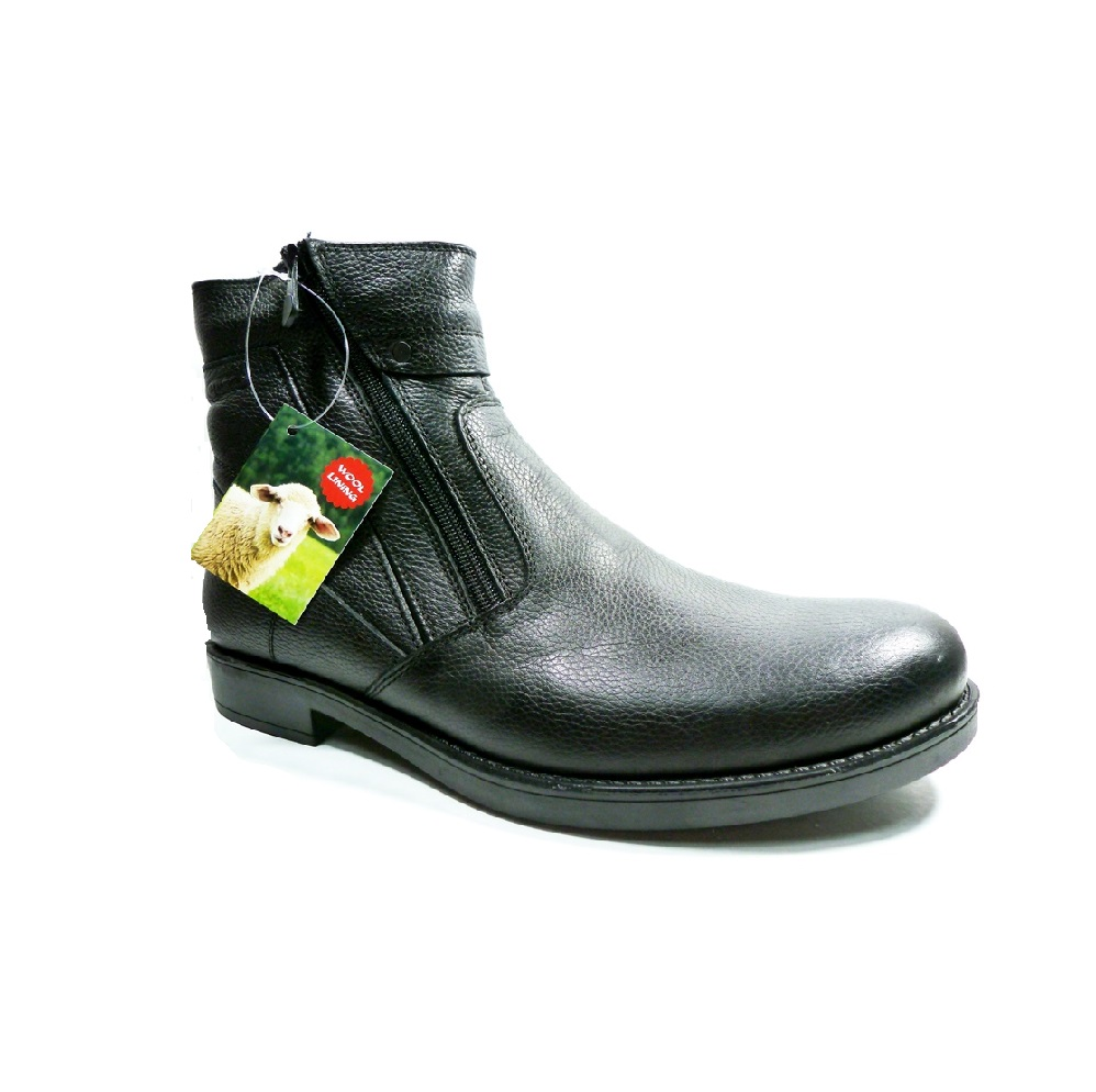 calitate excelentă noua versiune pret cu ridicata Ghete barbati OTTER piele -blana naturala 191679-01 - Kirus Shoes