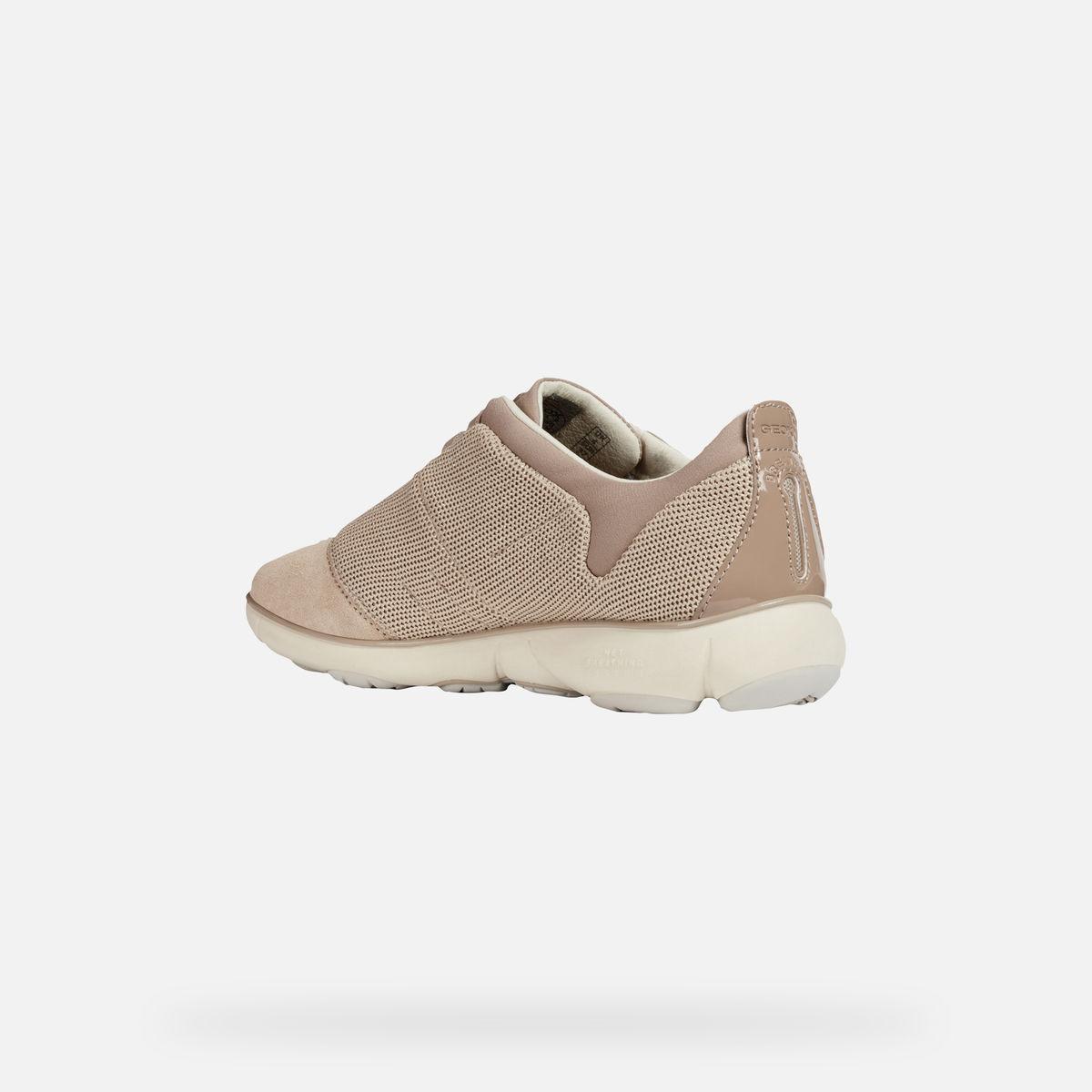 Pantofi dama GEOX NEBULA piele naturala suede D621EC 0EW22 C0423