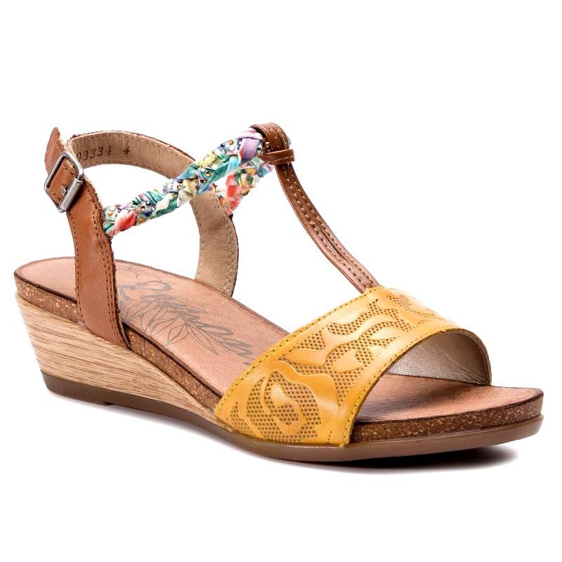 competitive price 5eb9a 48c4d Sandale dama REMONTE piele naturala D4459-68
