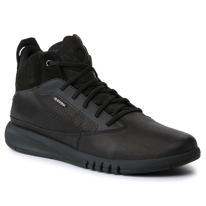vastă selecție prima vedere arata bine vanzare pantofi Sneakers GEOX piele naturala U947FA 00043 C9999 AERANTIS - Kirus Shoes