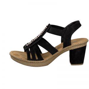 rieker-women-sandal-black-66584-00